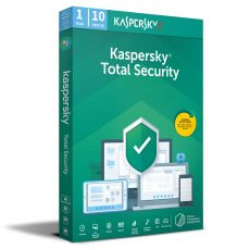 Kaspersky Total Security 2021, Runtime: 1 year, Device: 10 Devices, image
